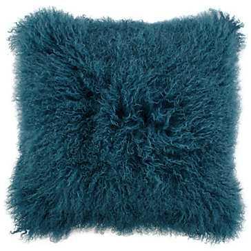 """Mongolian Pillow 22"""" - Feather/Down insert - Z Gallerie"""