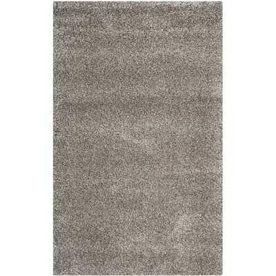 Safavieh Milan Shag Grey Rug (10' x 14') - Overstock