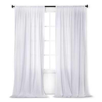 Simply Shabby Chic® Dobby Stripe Sheer Curtain Panel - 54 x 84 - Target