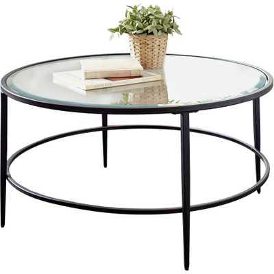 Harlan Round Coffee Table - Birch Lane