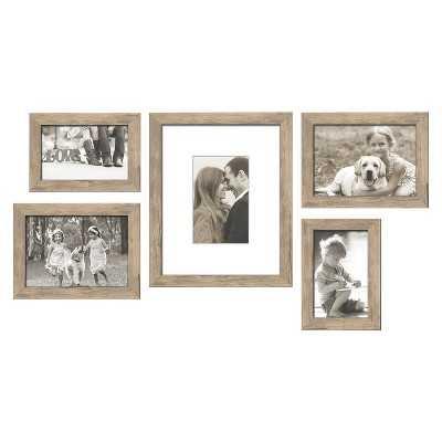 5 Piece Weathered Frame Set - Target