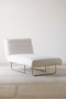 Oliver Sleeper Chaise - Taupe - Urban Outfitters