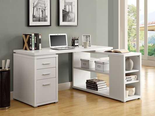 Monarch Specialties Left or Right Facing Corner Desk - Amazon