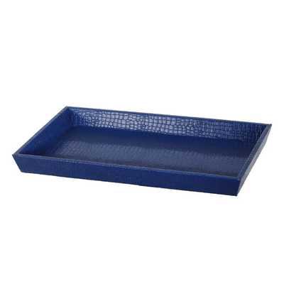 Tray in Blue - Wayfair