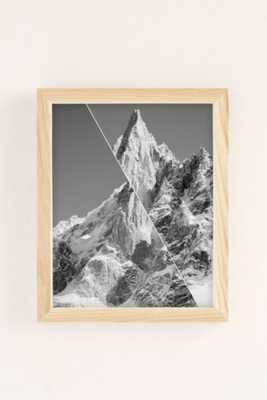 gwui Untitled Mountain Art Print 8x10 framed - Urban Outfitters