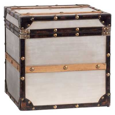 Collector's Metal Trunk - Pottery Barn Teen