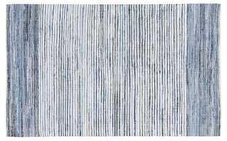 Denim Rug, Blue - 8' x 11' - One Kings Lane