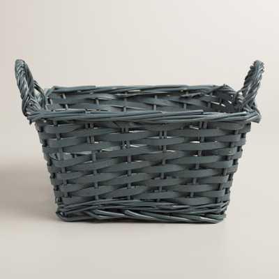 Medium Gray Square Jordan Basket - World Market/Cost Plus