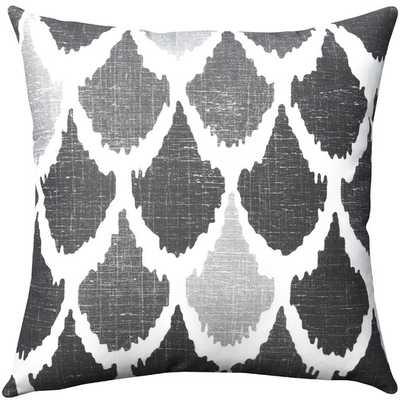 """Ikat Throw Pillow-18"""" x 18"""" -Polyester/Polyfill - AllModern"""