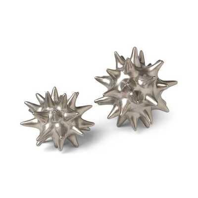 Urchin Matte Silver Objet - AllModern