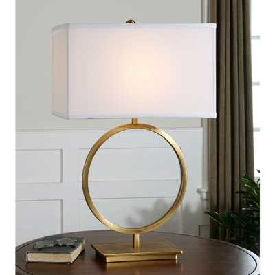 Uttermost Duara Metal Table Lamp - Overstock