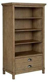 Driftwood Park Bookcase, Natural - One Kings Lane