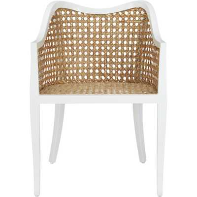 tayabas cane side chair - CB2
