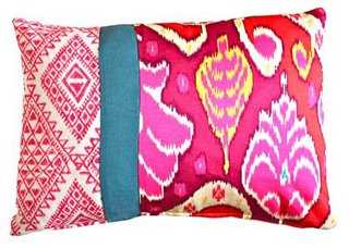 Sinta  Pillow - 14x20, With Insert - One Kings Lane
