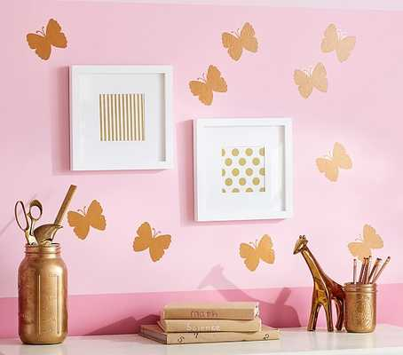 Gold Butterfly Decals - Pottery Barn Kids