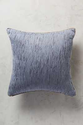 "Arrowwood Pillow - Slate - 18"" x 18"" - Polyfill - Anthropologie"
