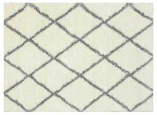 Yass Rug, Ivory/Gray - One Kings Lane