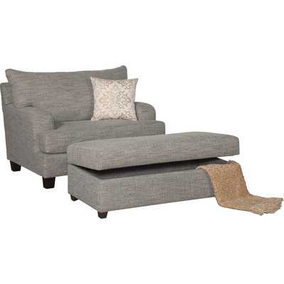 Serta Upholstery Cuddle Chair - Spartan Ocean - Wayfair