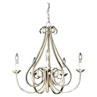 Dover 5 Light Chandelier I - Wayfair