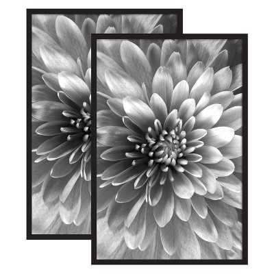 Set of 2 - Gallery Poster Frame - Black - Target