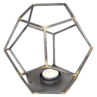 Decorative Metal Figurine - Brown - Target