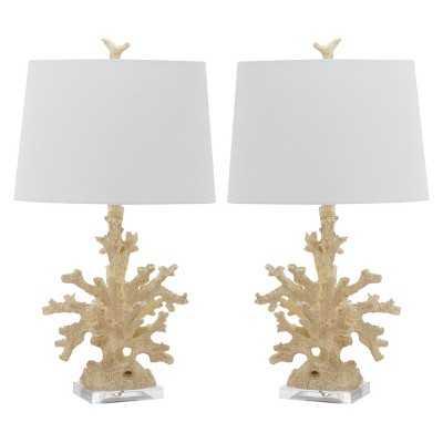 Safavieh Porte Table Lamp (Set of 2) - Target