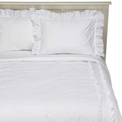 Heirloom White Comforter - Full/Queen - Target