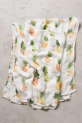 Cozy Comfort Swaddling Blanket-Yellow - Anthropologie