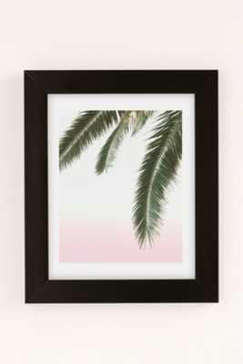 Wilder California Hanging Palm Art Print - 8 X 10 - Framed - Urban Outfitters