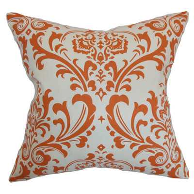 Bude Cotton Throw Pillow - Sweet Potato, 18''-Polyester/Polyfill - Wayfair