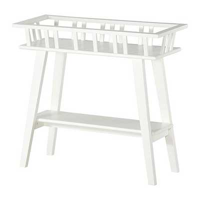 LANTLIV Plant stand, white - Ikea