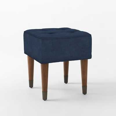 Upholstered Tufted Stool - West Elm