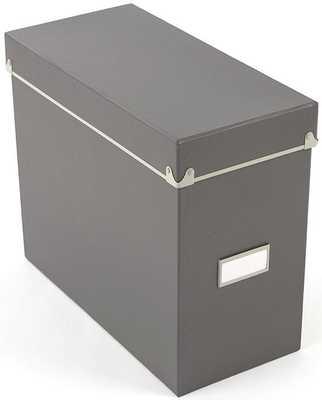 HADLEY FILE BOX - Home Decorators