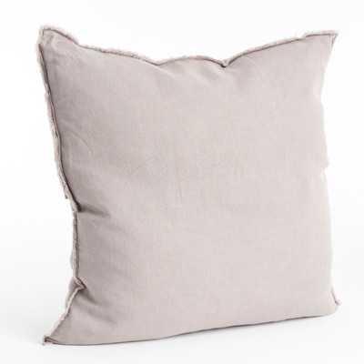 """Levasseur Linen Throw Pillow - 20"""" - insert - Wayfair"""