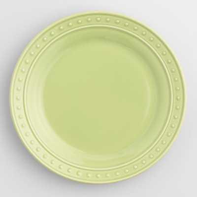 Green Nantucket Salad Plates, Set of 4 - World Market/Cost Plus