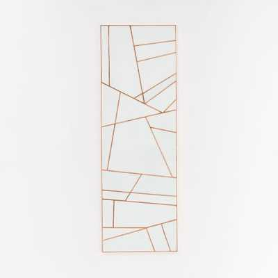 Roar + Rabbit Rhythmic Lines Wall Art- Individual, 18x54, Unframed - West Elm