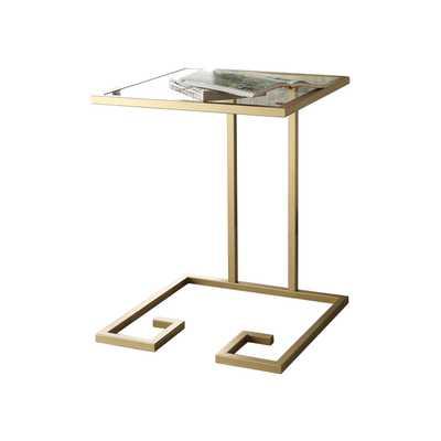 Kyle End Table - Gold - Wayfair
