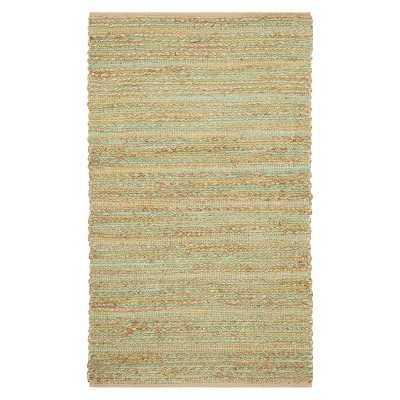 Safavieh Bridgehampton Natural Fiber Rug - Green/natural, 4x6 - Target