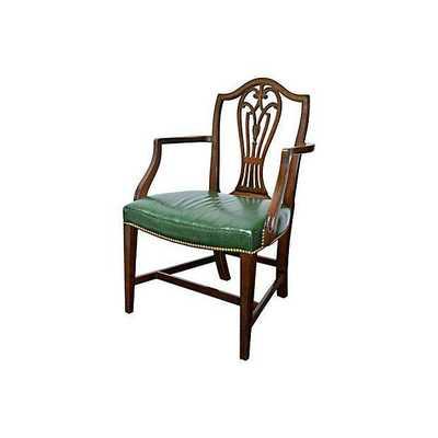 Hepplewhite-Style Armchair - Chairish