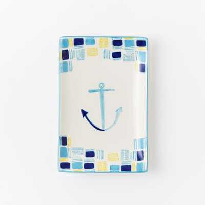 Collector's Editions Plates -  Blue Anchor - West Elm