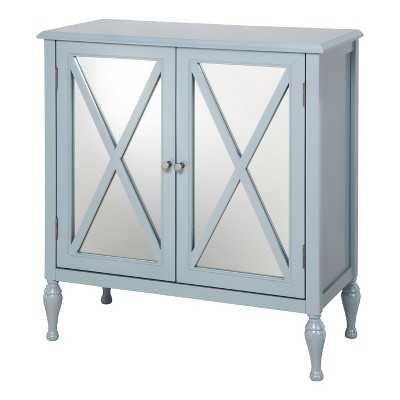 Hollywood Mirrored Accent Cabinet - Target