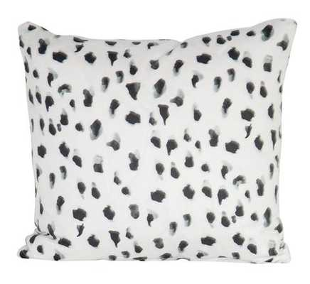 """""""Africa"""" by Inslee Pillow - Black - 18"""" x 18"""" - Insert sold separately - Society Social"""