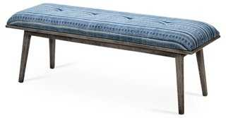 """Finna 48"""" Tufted Bench - One Kings Lane"""