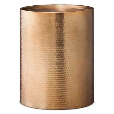 Granby Cylinder Drum Accent Table - Copper - Target
