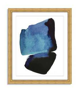 "Kate Roebuck, Water Colorstudy 2 - 33"" x 40"" - Framed ( Gold Frame) - One Kings Lane"