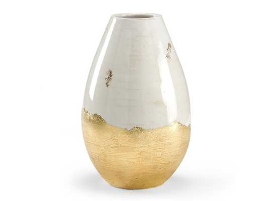 GIANNA ANTIQUED VASE - Curated Kravet