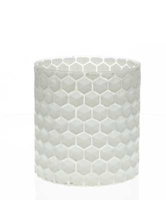 Glass Honeycomb Vase - Small - High Street Market