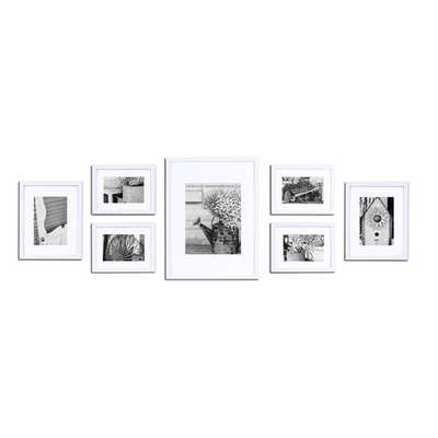 Gallery 7 Piece Perfect Wall Picture Frame Set - AllModern