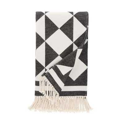 Henri Ink Throw Blanket - AllModern