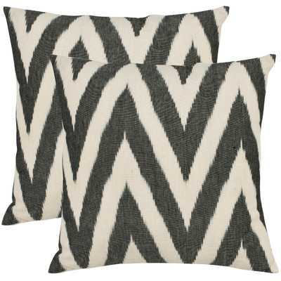Helena Cotton Throw Pillow, no insert - Set of 2 - Wayfair
